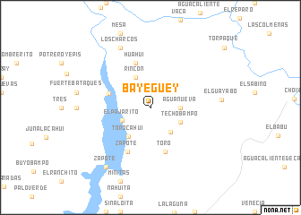 map of Bayeguey