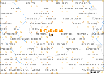 map of Bayersried