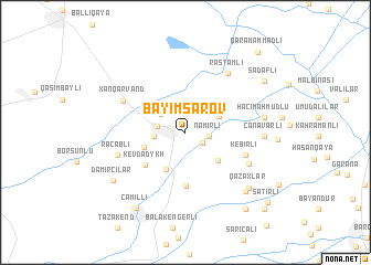 map of Bǝyimsarov