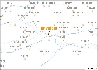 map of Bayındır