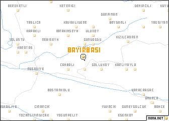 map of Bayırbaşı
