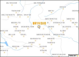 map of Baykovo
