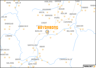 map of Bayombong