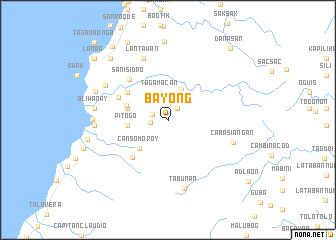 map of Bayong