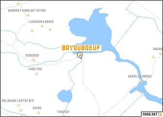Map Of Louisiana Bayou.Bayou Boeuf United States Usa Map Nona Net