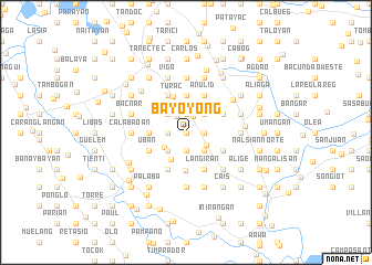 map of Bayoyong