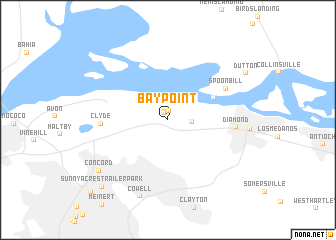 map of Bay Point