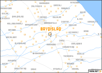 map of Bǝyqışlaq