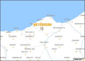 map of Bayramşah