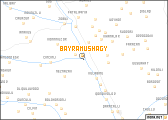 map of Bayramushagy