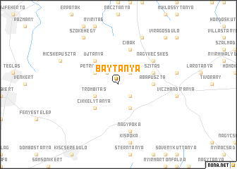 map of Baytanya