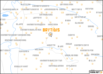 map of Bayt Īdis