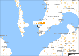 map of Bayugo