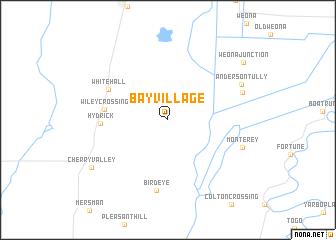 map of Bay Village