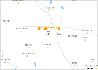 map of B B Junction