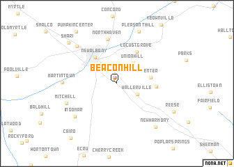 map of Beacon Hill