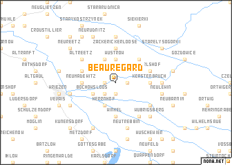 map of Beauregard