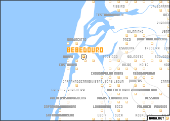 map of Bebedouro