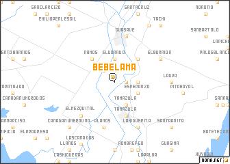 map of Bebelama