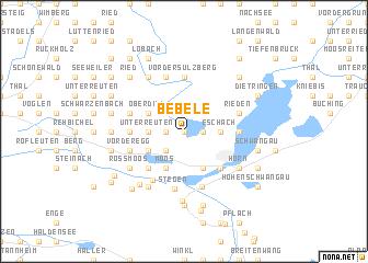 map of Bebele