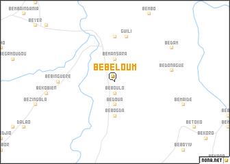 map of Bebeloum