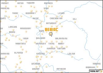 map of Bebiac