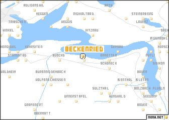 map of Beckenried