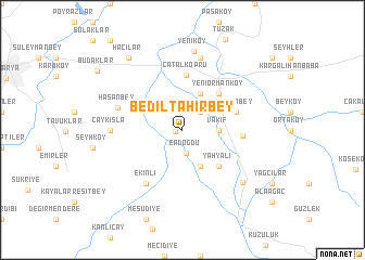 map of Bediltahirbey