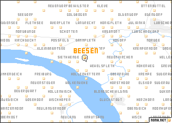 map of Beesen