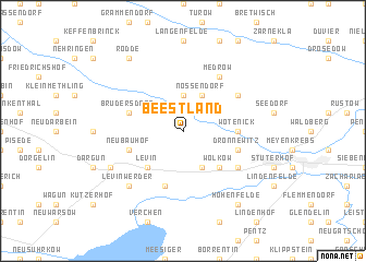 map of Beestland