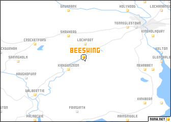 map of Beeswing