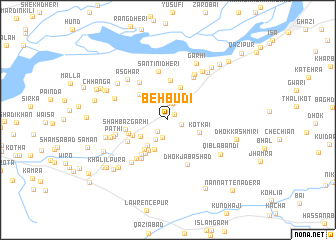 map of Behbūdi