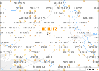 map of Behlitz