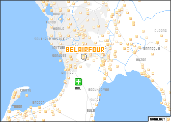 map of Bel-Air Four