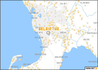 map of Bel-Air Two