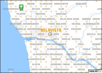 map of Bela Vista