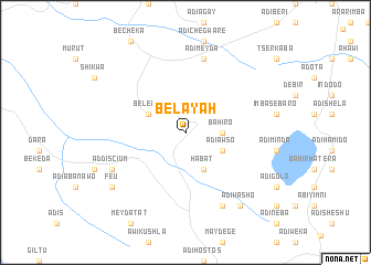 map of Belayah