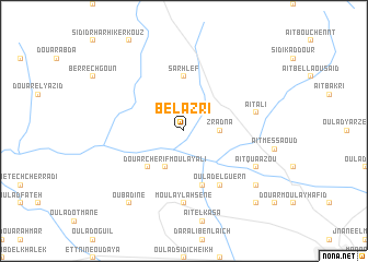 map of Bel Azri