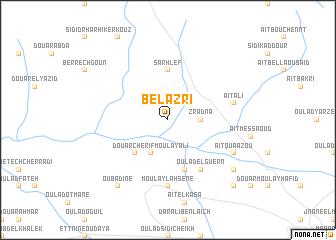 map of Bel Azri