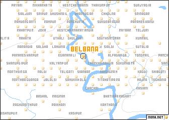 map of Belbāna