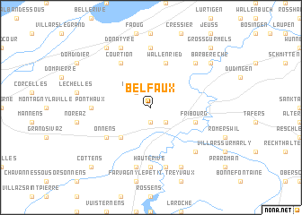 map of Belfaux