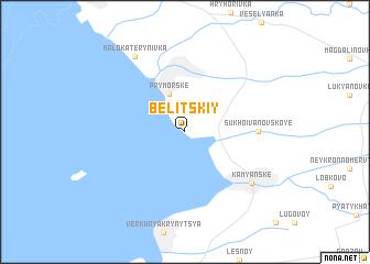 map of Belitskiy
