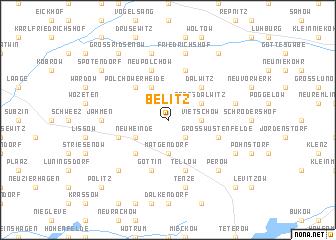map of Belitz