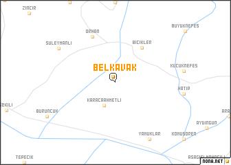 map of Belkavak