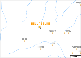 map of Bella Selva