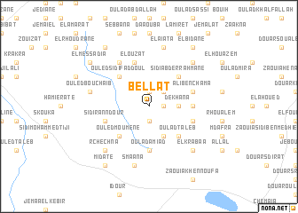 map of Bellat