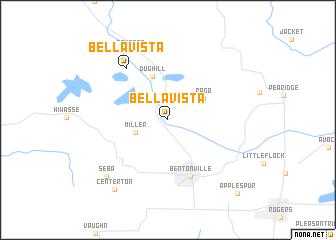 map of Bella Vista