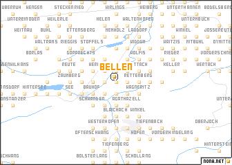 map of Bellen