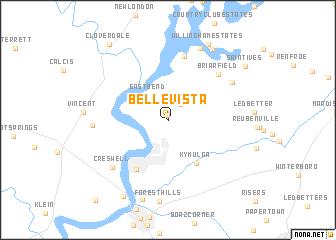 map of Belle Vista