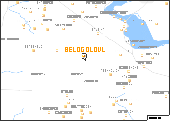 map of Belogolovl